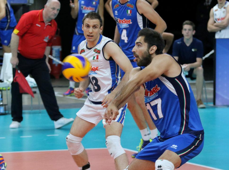 Italy Blemishes France's Unbeaten Record to Open Pool I1