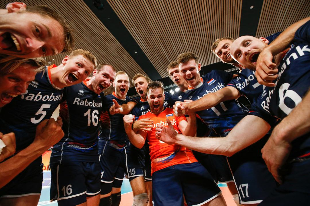 Dutch Earn Group 2 Final Four Spot with Sweep of Slovakia