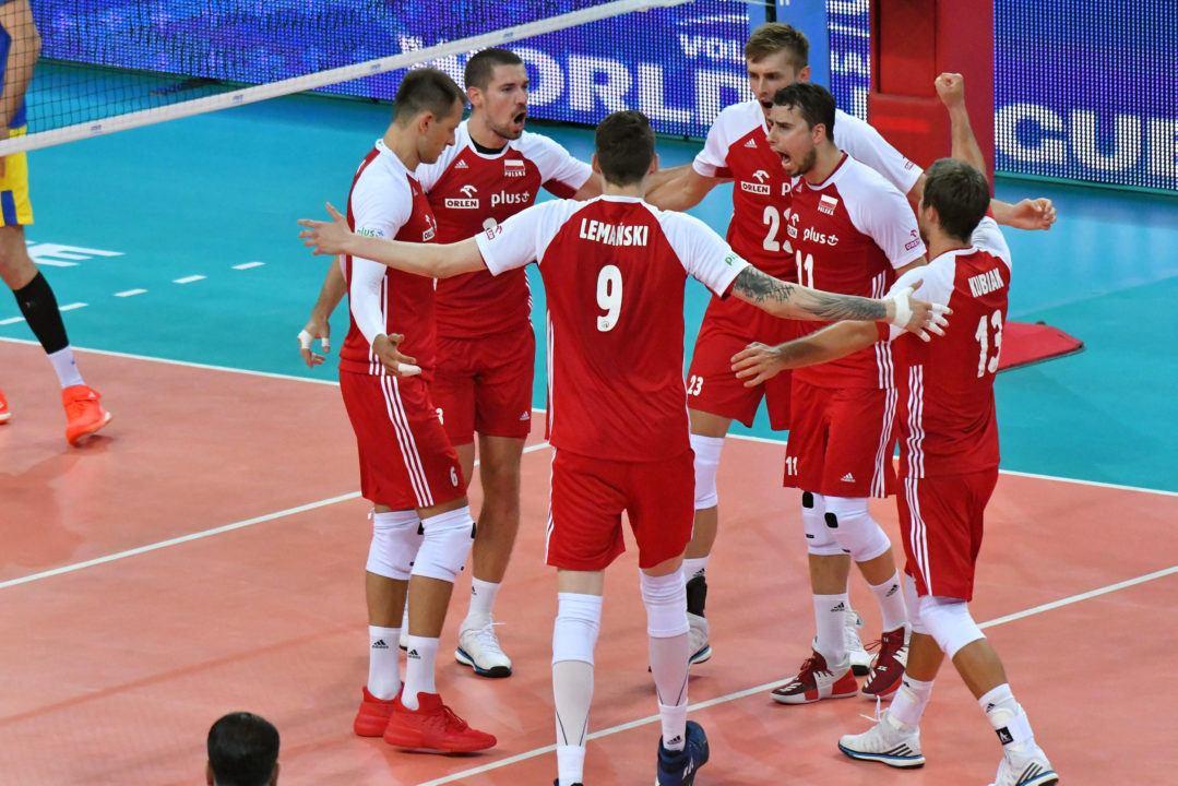 LIVE NOW: Defending World Champ Poland vs. 2016 Olympic Champ Brazil