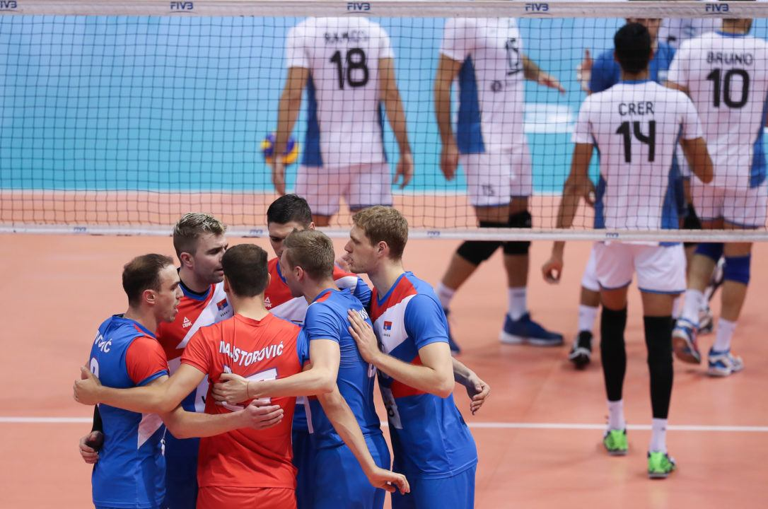 Serbia Becomes 3rd Team to Secure Spot in World League Final 6
