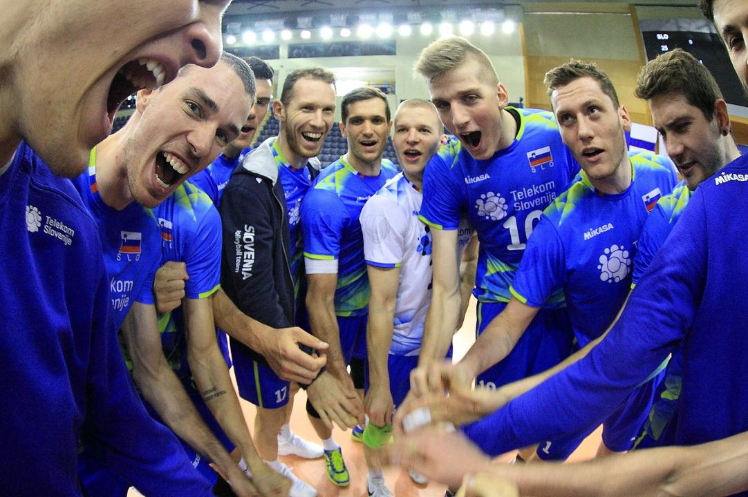 Alen Sket's 6 Aces Leads Slovenia to Closing-Day Win In Pool H2