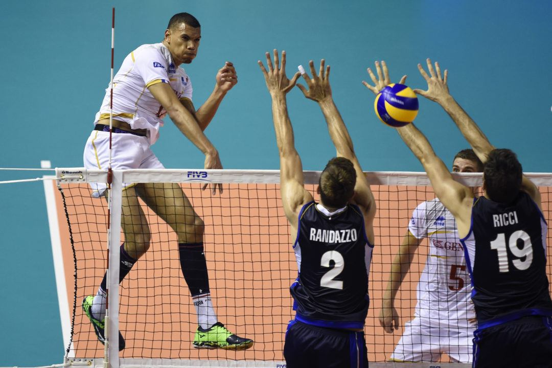 LIVE NOW: France Tries to Stay Undefeated in Rematch with Italy