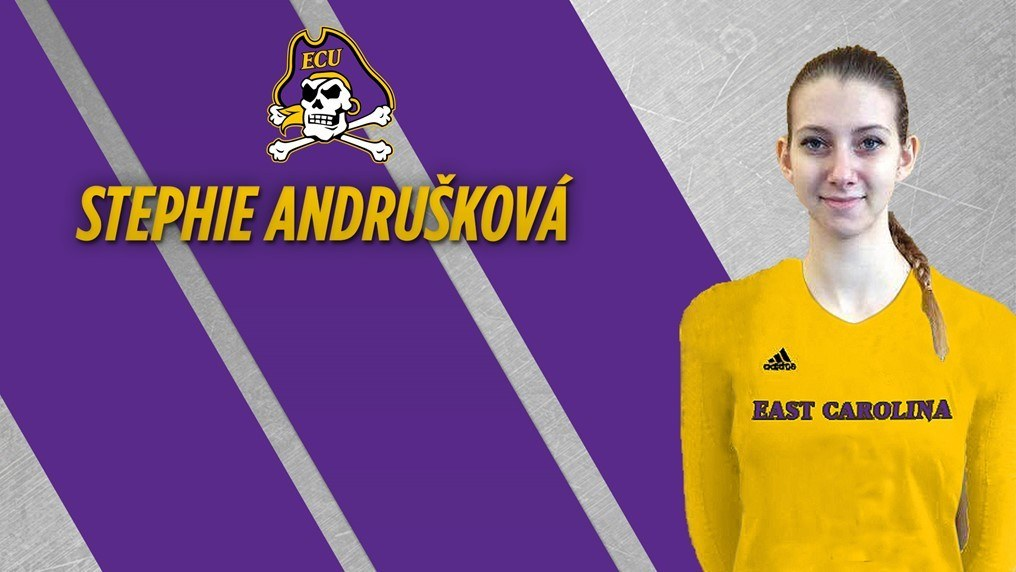 East Carolina Rounds Out Recruiting Class with Stephie Andrušková