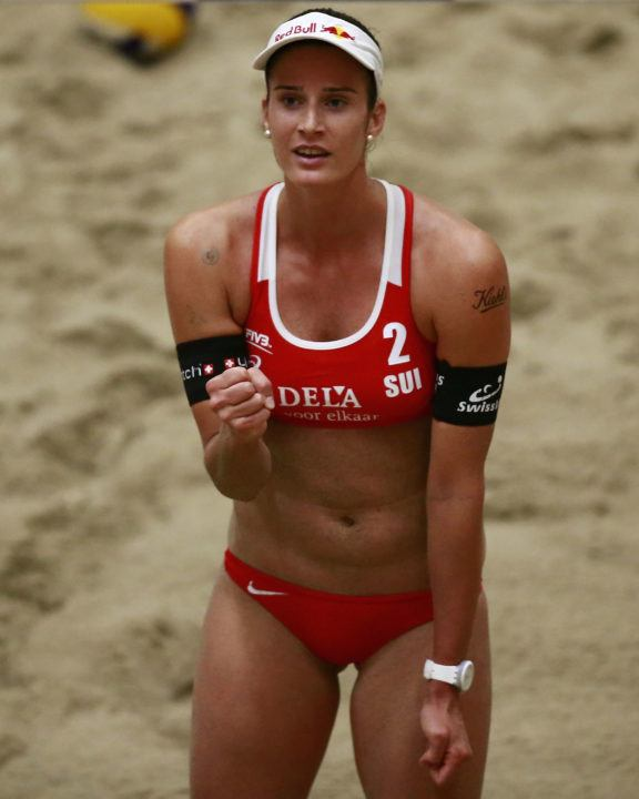 Swiss Women's Pair Downs Top-Seed In Pool Play At The Hague