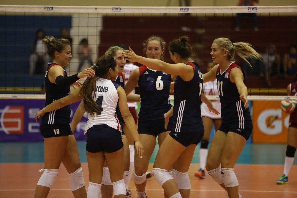 Micha Hancock Serves Up 11 Aces in USA's Pan Am Cup Win