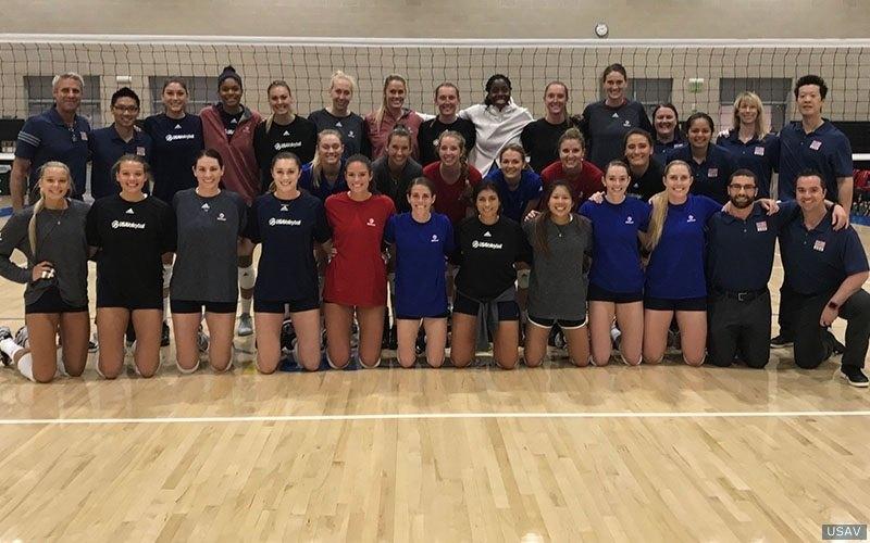 U.S. Names Women's FIVB World Grand Prelim Roster
