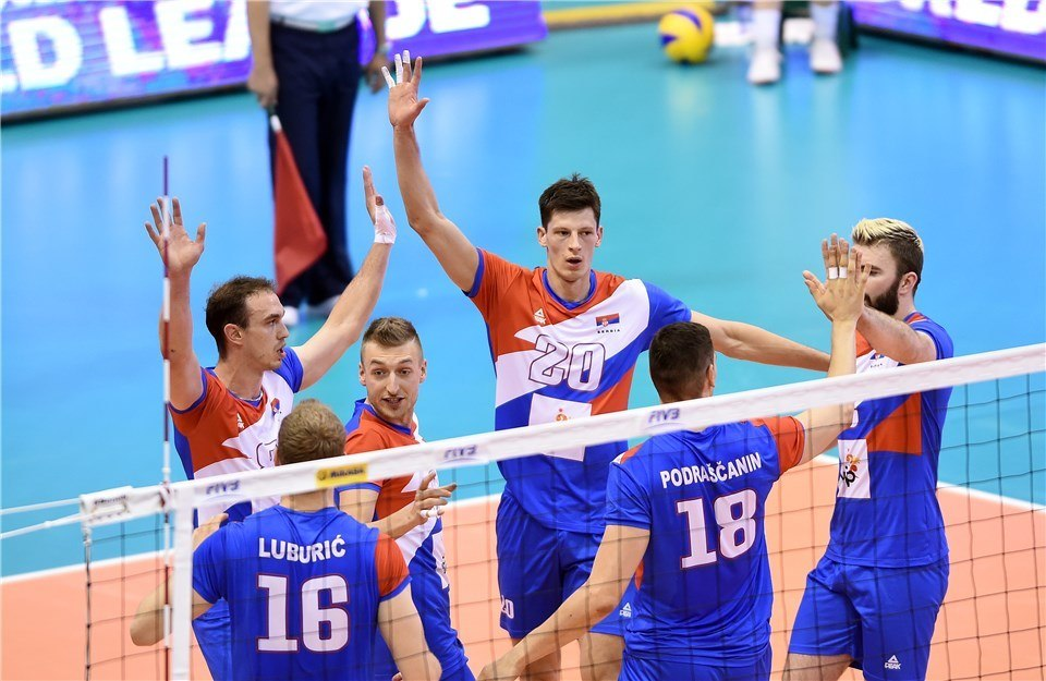 Serbia Avenges Lone Loss from 2016 World League With Sweep of Arg.