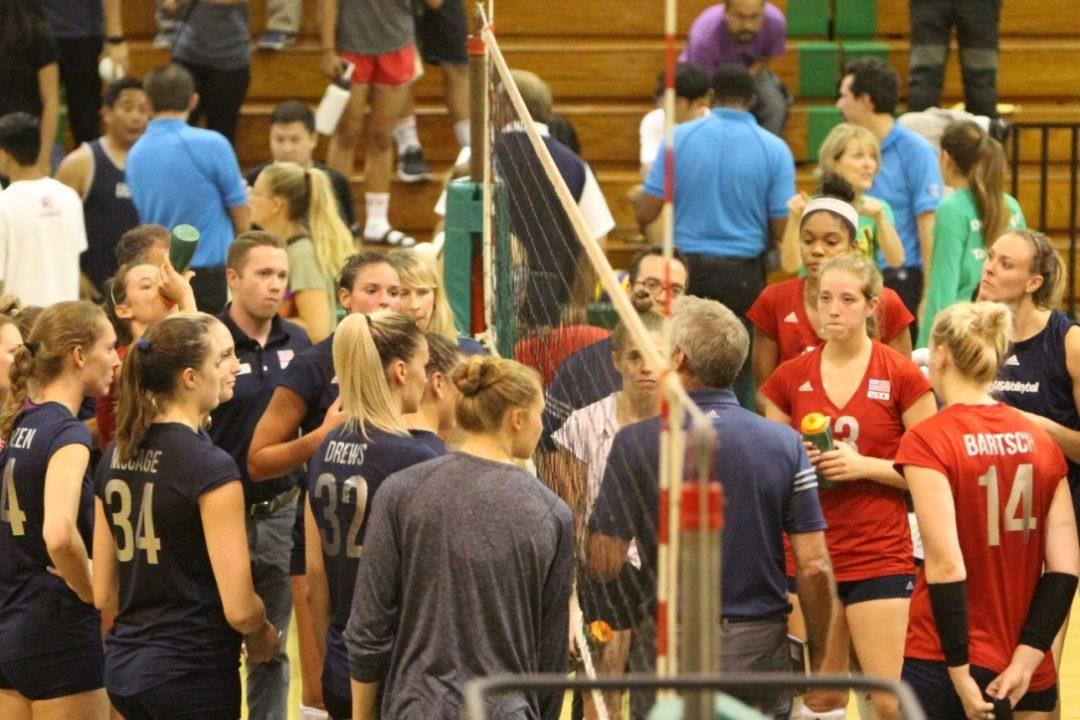 PHOTO VAULT: USA Women's Red-Blue Scrimmage