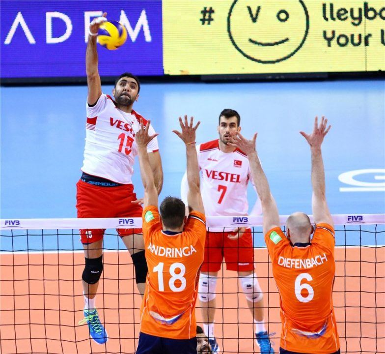 Turkey Beats Netherlands In 5 Sets For Pool C2 Dominance