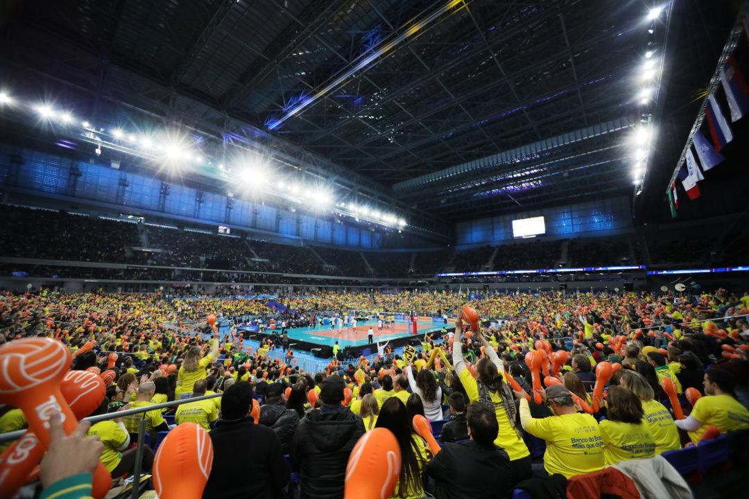 2017 FIVB World League Draws Over 340,000 Spectators