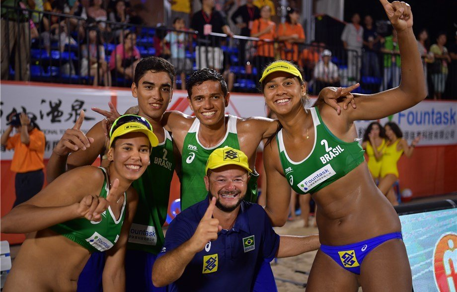 Adrielson/Renato Take U21 Men's Beach Title, Round Out Brazilian Sweep