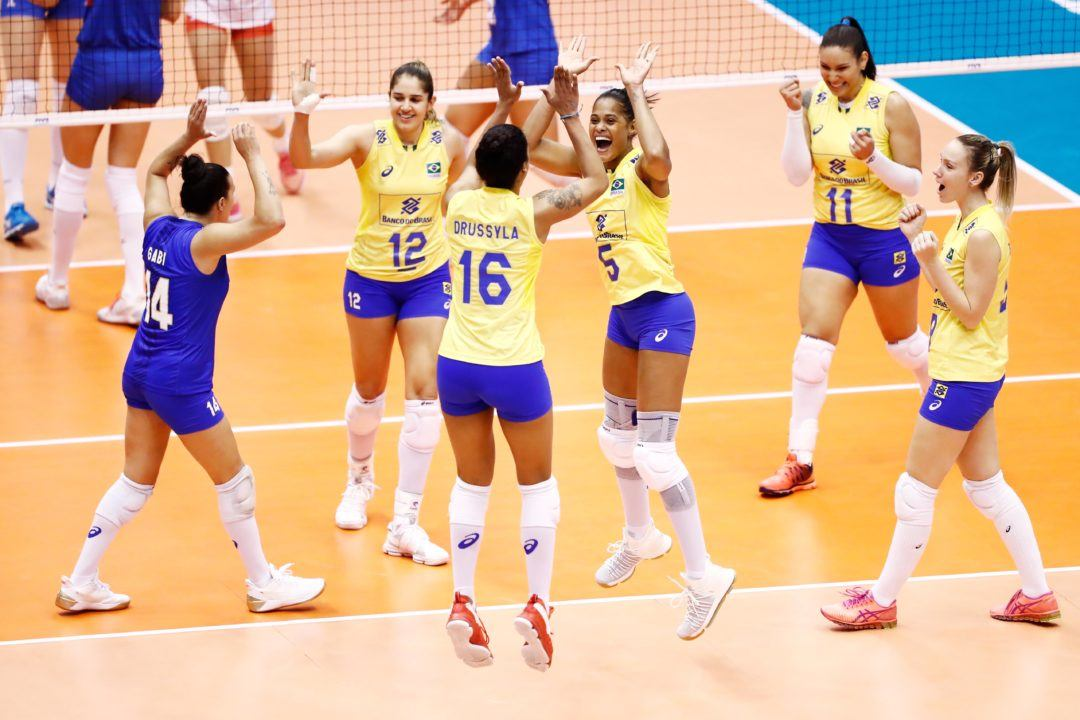 Brazil Downs Serbia, Japan Takes Home Win in Grand Prix Pool D1