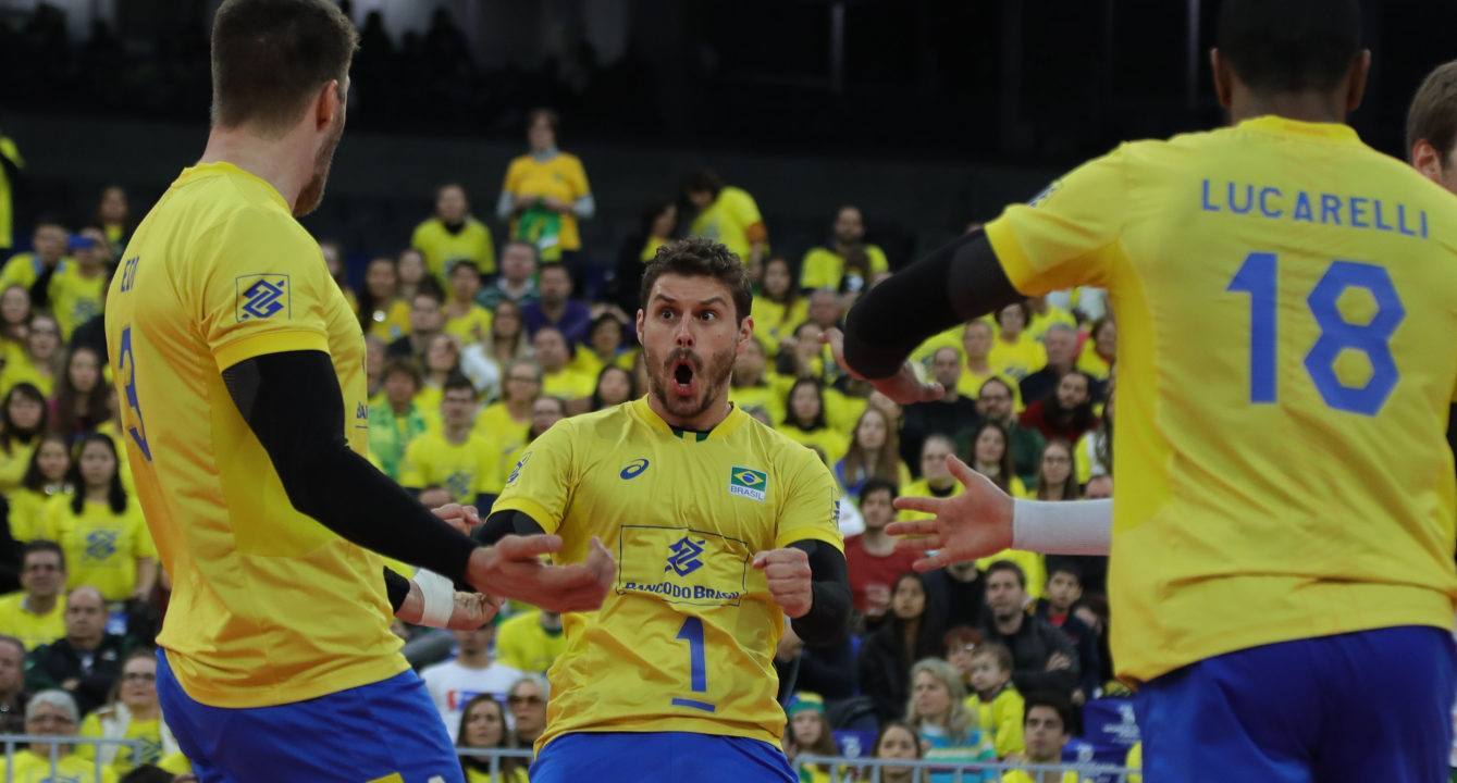 Brazil is projected Number 1 in next FIVB Men's Rankings