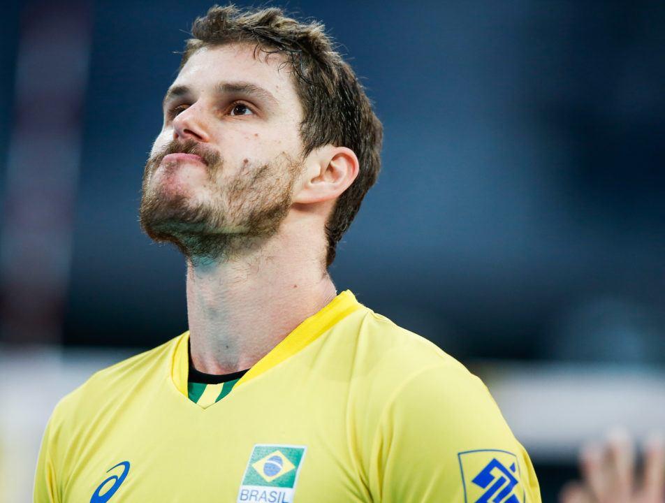 After Lengthy Talks, Lube Civitanova Signs Olympic Champion Bruninho