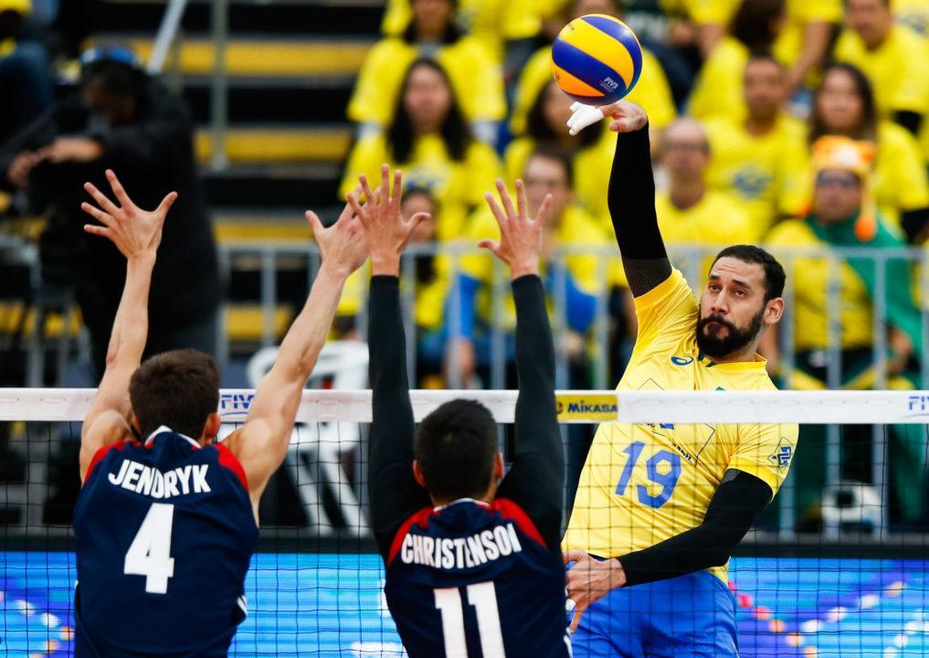 USA Falls to Brazil in World League Semfinals