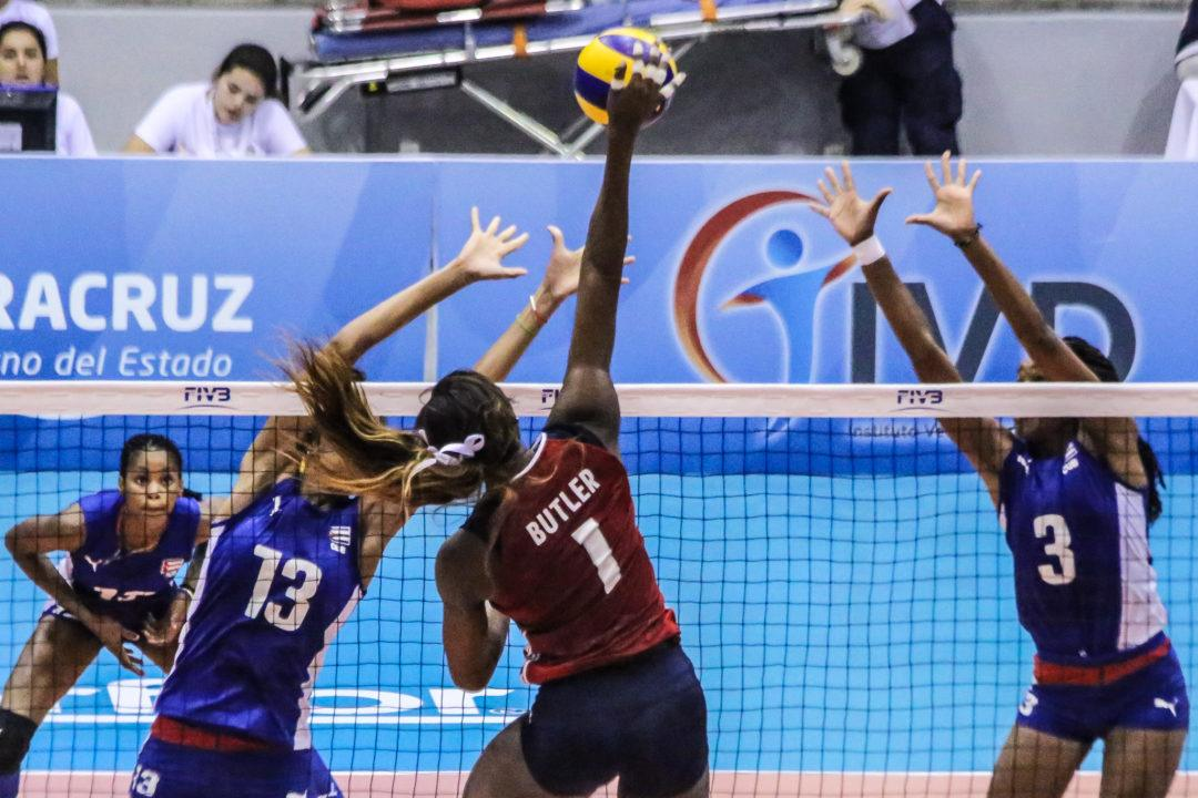 Brazil Moves to 2-0; United States Serves Up Sweep vs. Cuba in Pool C