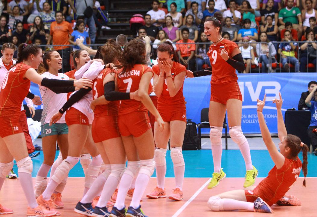 Russia Crushes Egypt, Bulgaria Aces Mexico in Five Setter