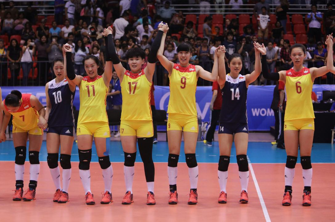 Block Leads China to U20 Semifinals, Win over Japan