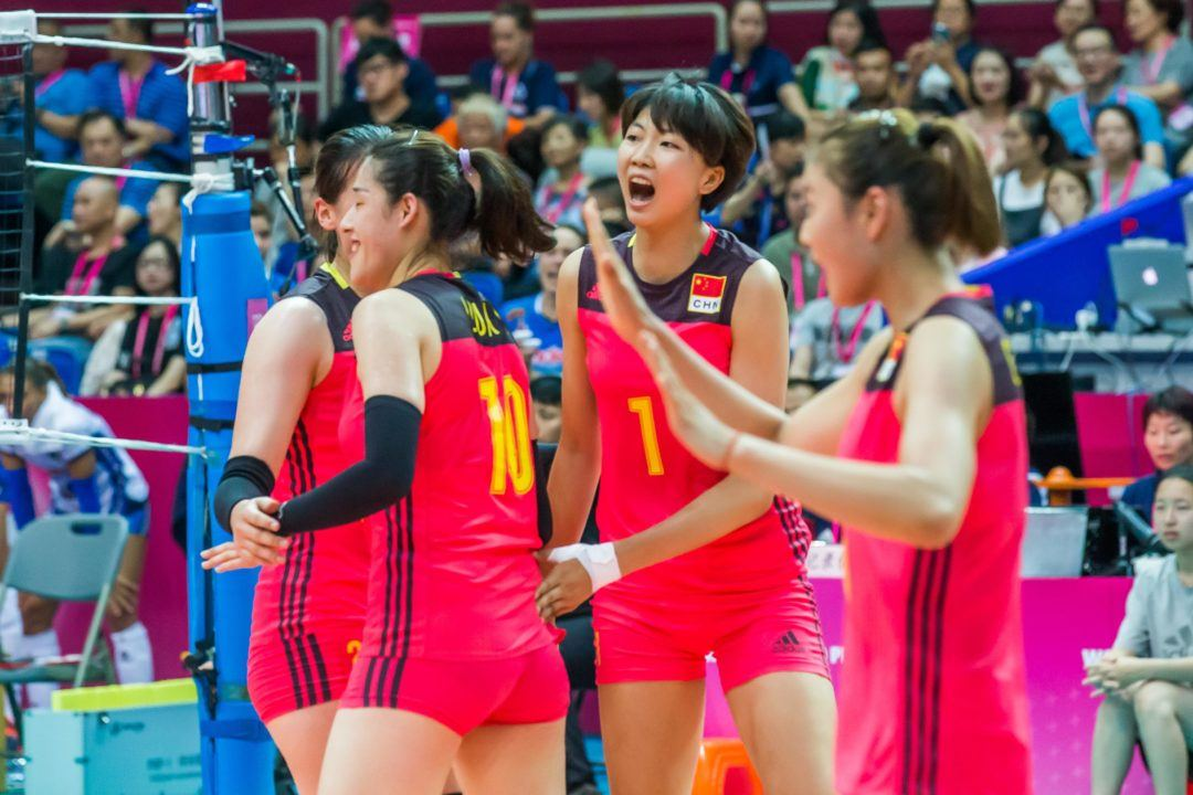 LIVE: Defending Olympic Champion China Looks for 2-0 Start vs. Russia