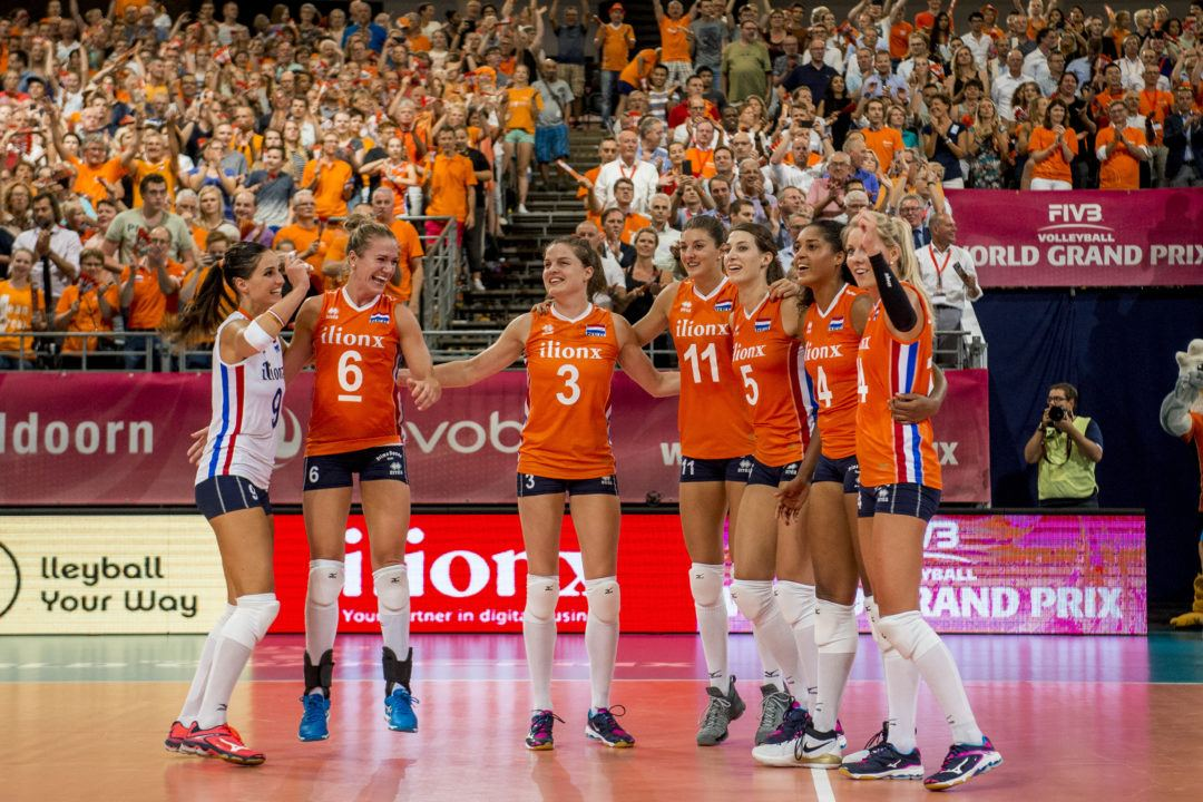 Plak Paces Dutch in C1 Sweep; Koga, Horkawa Lift Japan in Five-Setter