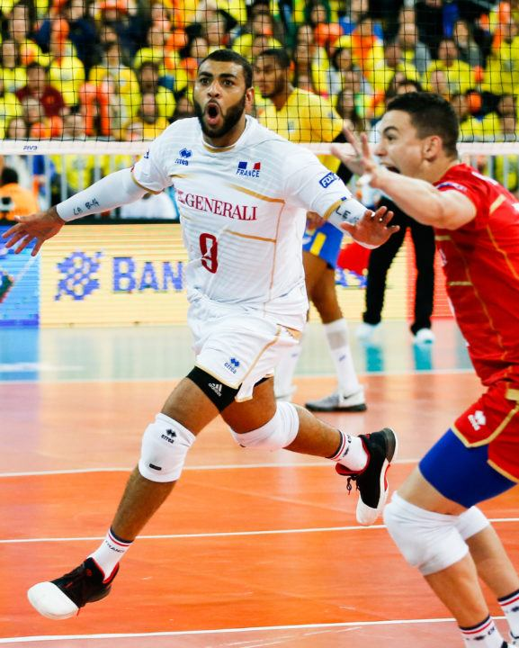 France's Earvin Ngapeth Earns MVP Honors At World League