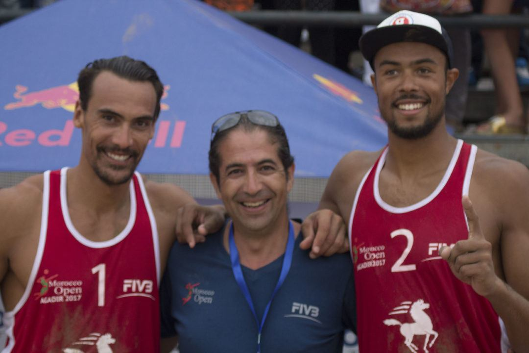 France's Krou/Aye Cruise to Gold Medal at Agadir One Star