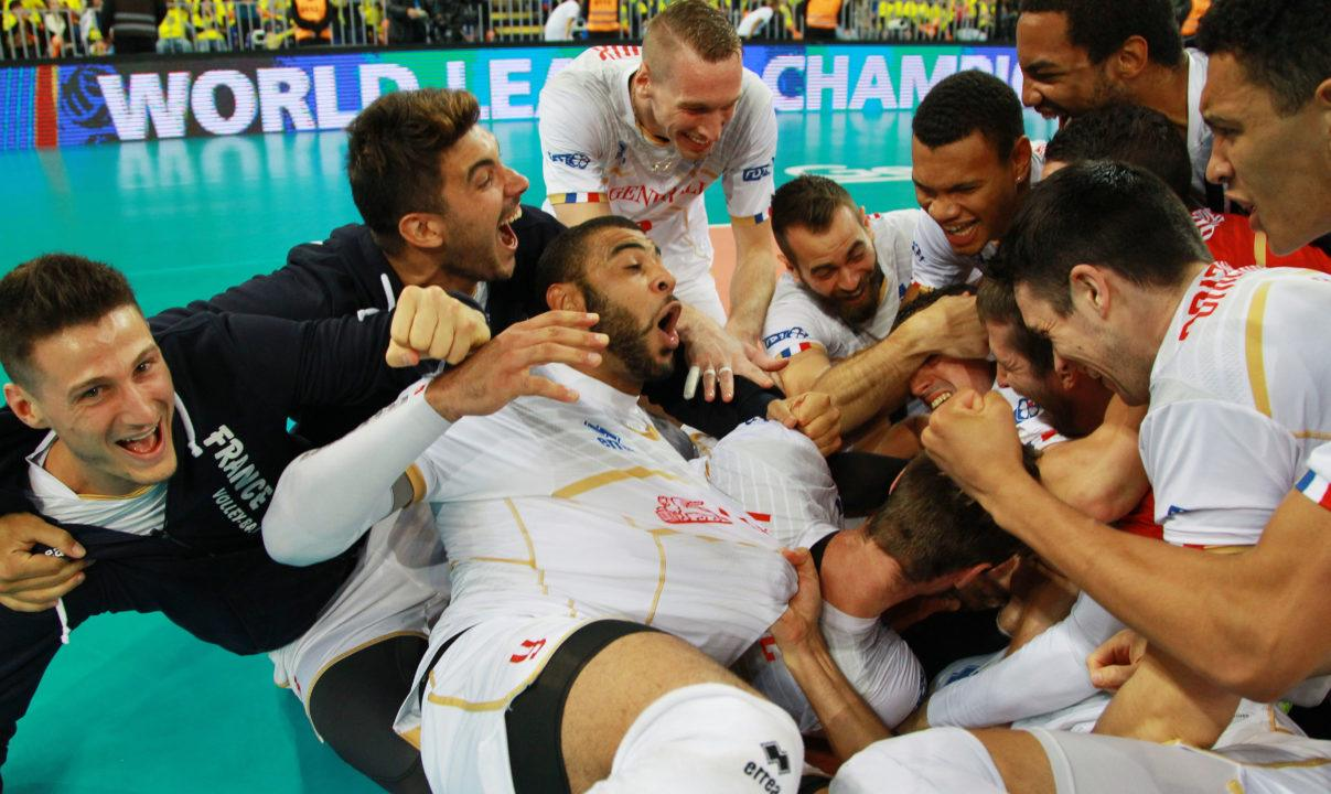 France Ties United States with 2 World League Titles