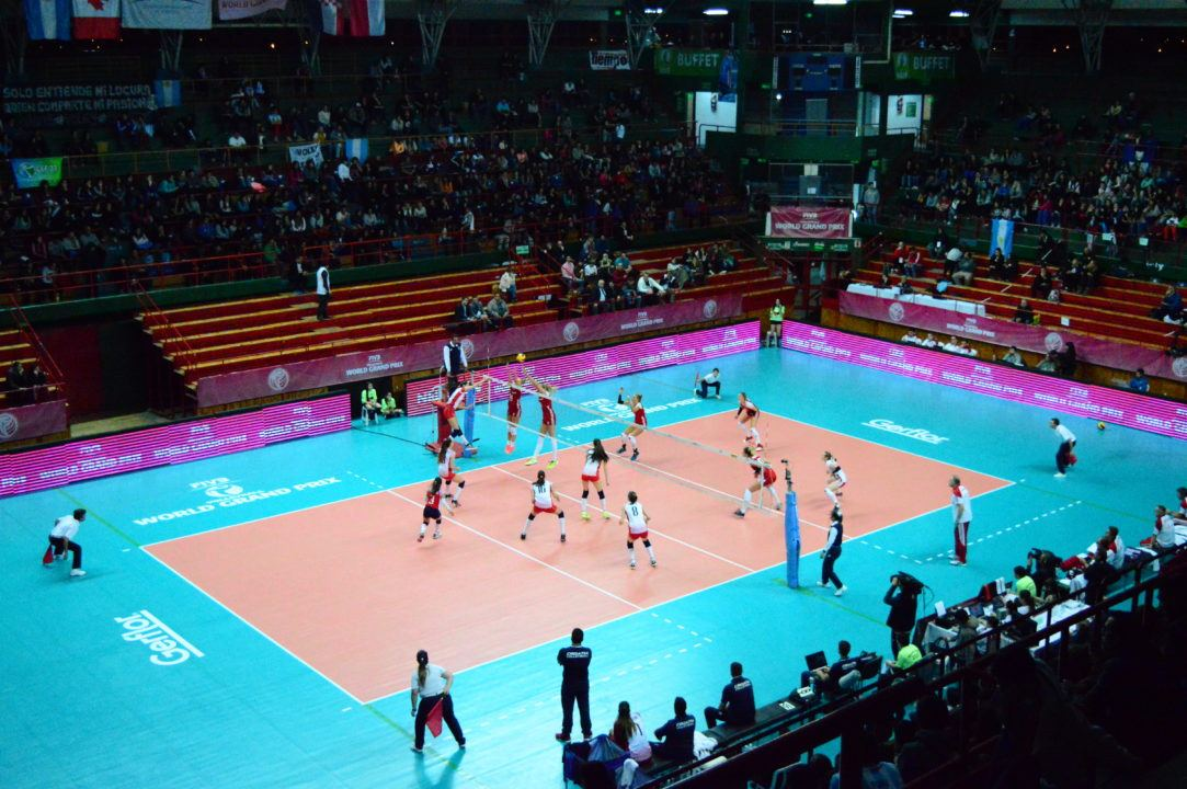 Day One of Group 2 of FIVB World Grand Prix Comes to a Close