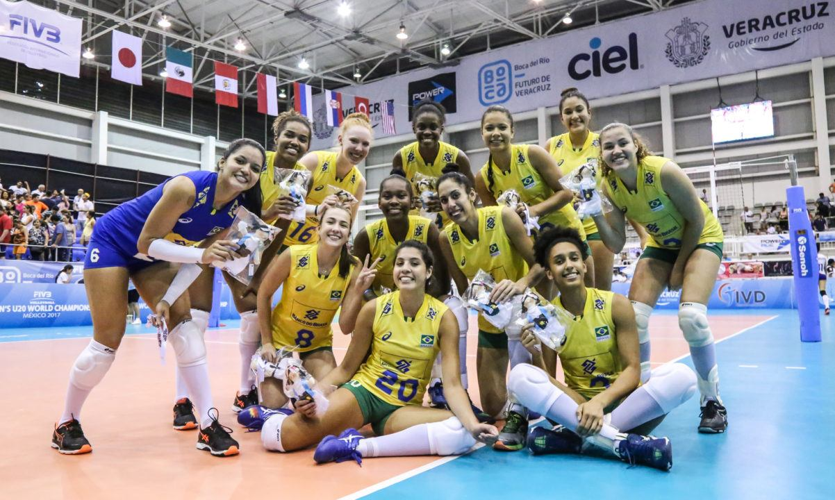 Brazil Tops Pool C At U20 Worlds After Five-Set Win Over Cuba