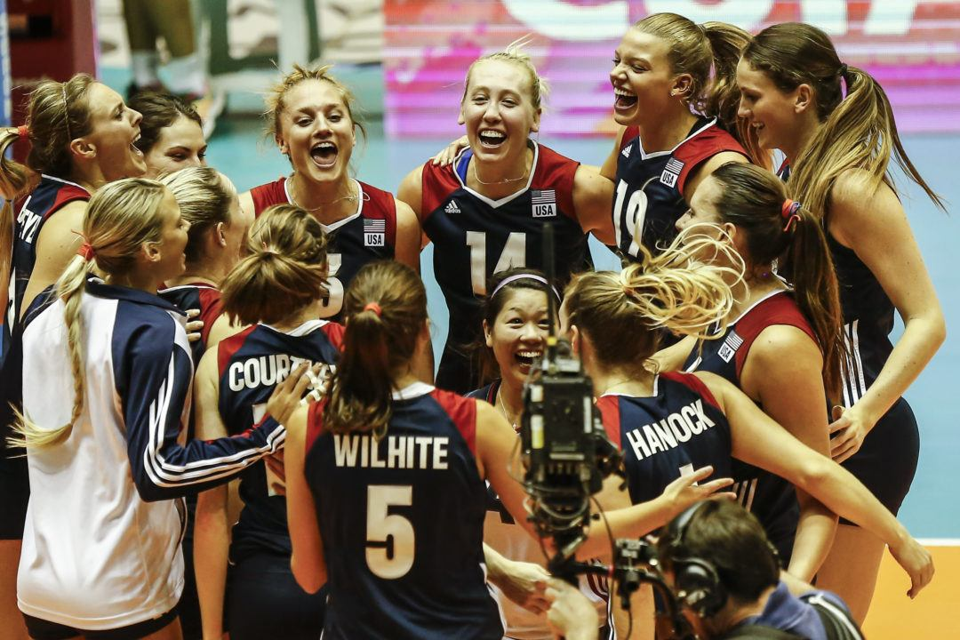 Team USA Upsets The Netherlands At World Grand Prix