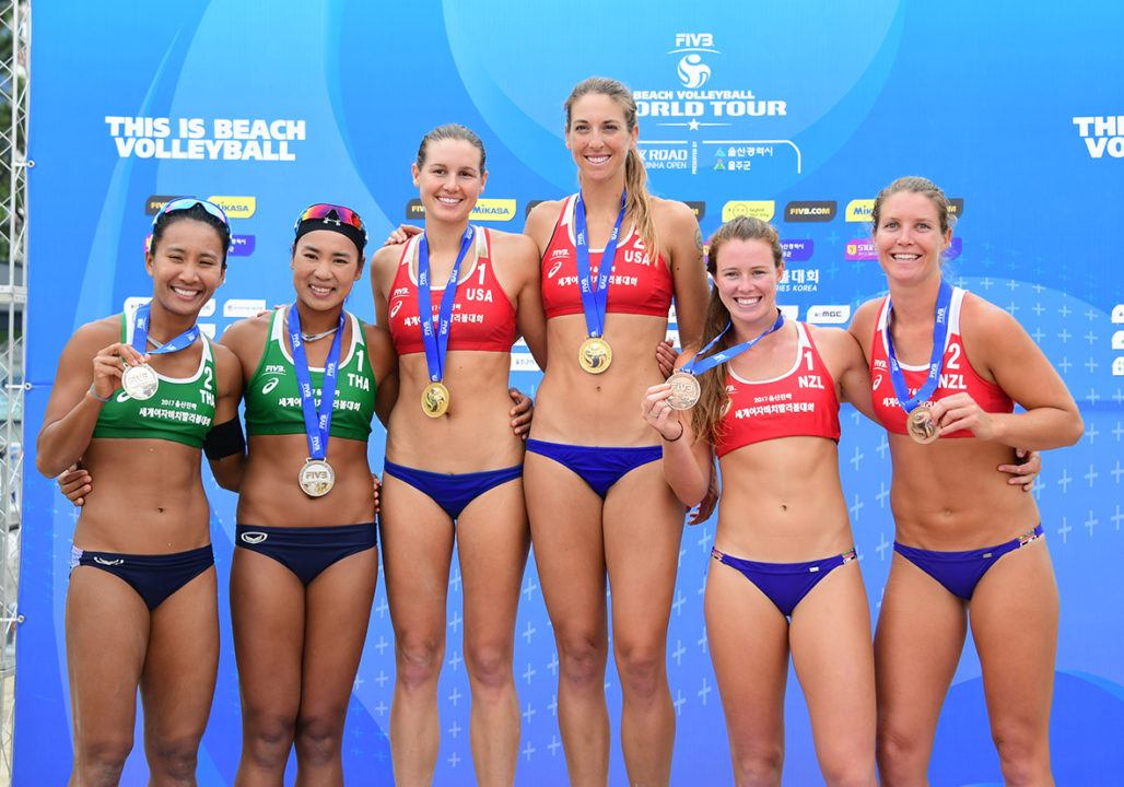 Betsi Flint/Kelley Larsen Capture Second World Tour Gold In Ulsan