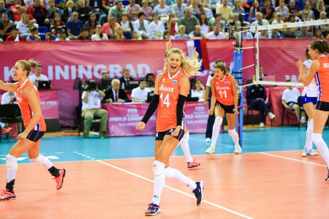 Netherlands Uses Powerful Attack to Sweep Russia and Claim Pool F1 Win