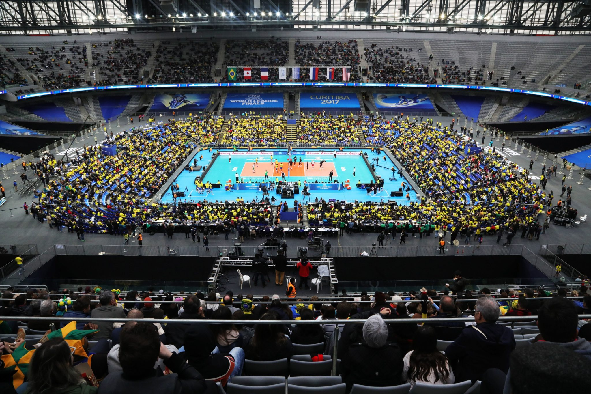 FIVB World League Brings In Nearly 350,000 Fans