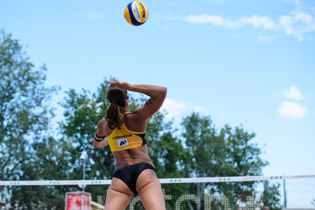 Laboureur/Sude Sweep Cuban Pair to Clinch Spot in Round of 32