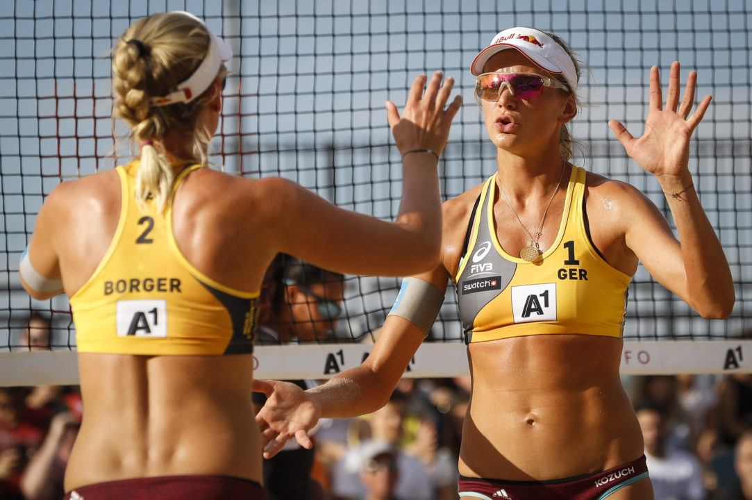 Germany's Maggie Kozuch Improving in Transition to Beach