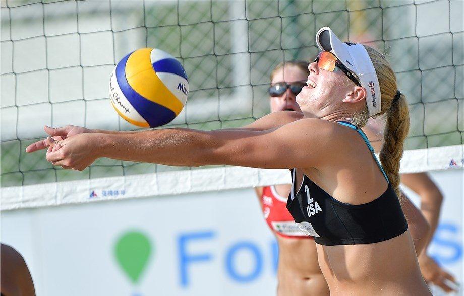 Plummer/Mirkovic Advance To Quarterfinals Of U21 Beach Championships