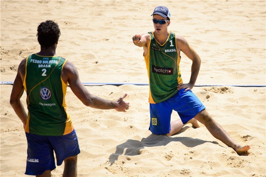 Carvalhaes/Solberg Make FIVB History With A 9-Straight Day Win Streak