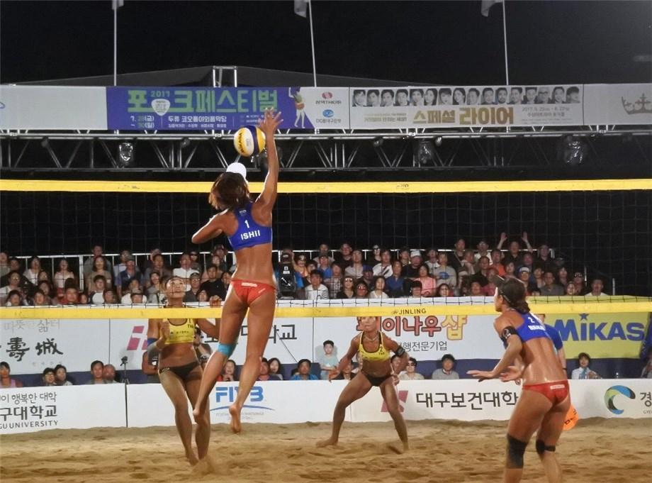 Japan's Ishii/Murakami to Face China's Wang/Xia for Asian Beach Gold