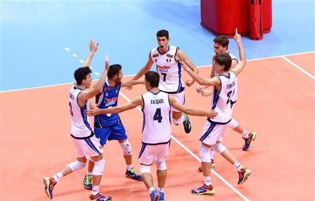 Italy, Belgium Will Face Off for CEV U17 Title in Pool 2 Rematch