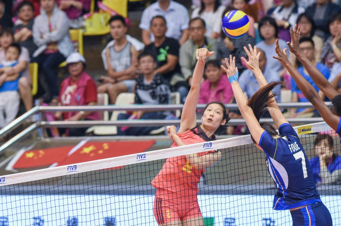 WATCH LIVE: Two of the WGP Top Arms Meet in Semis with China vs. Italy