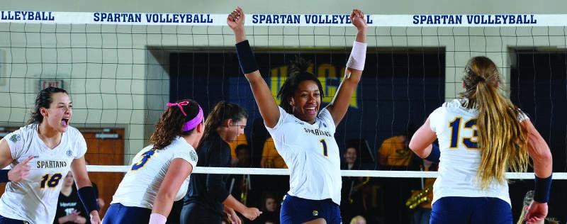 All-SoCon Middle Blocker Jasmine Jones is Off to Cincinnati in 2017