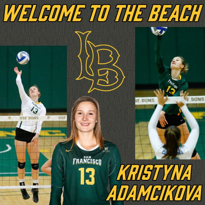 Long Beach State Welcomes San Francisco Transfer Kristyna Adamcikova