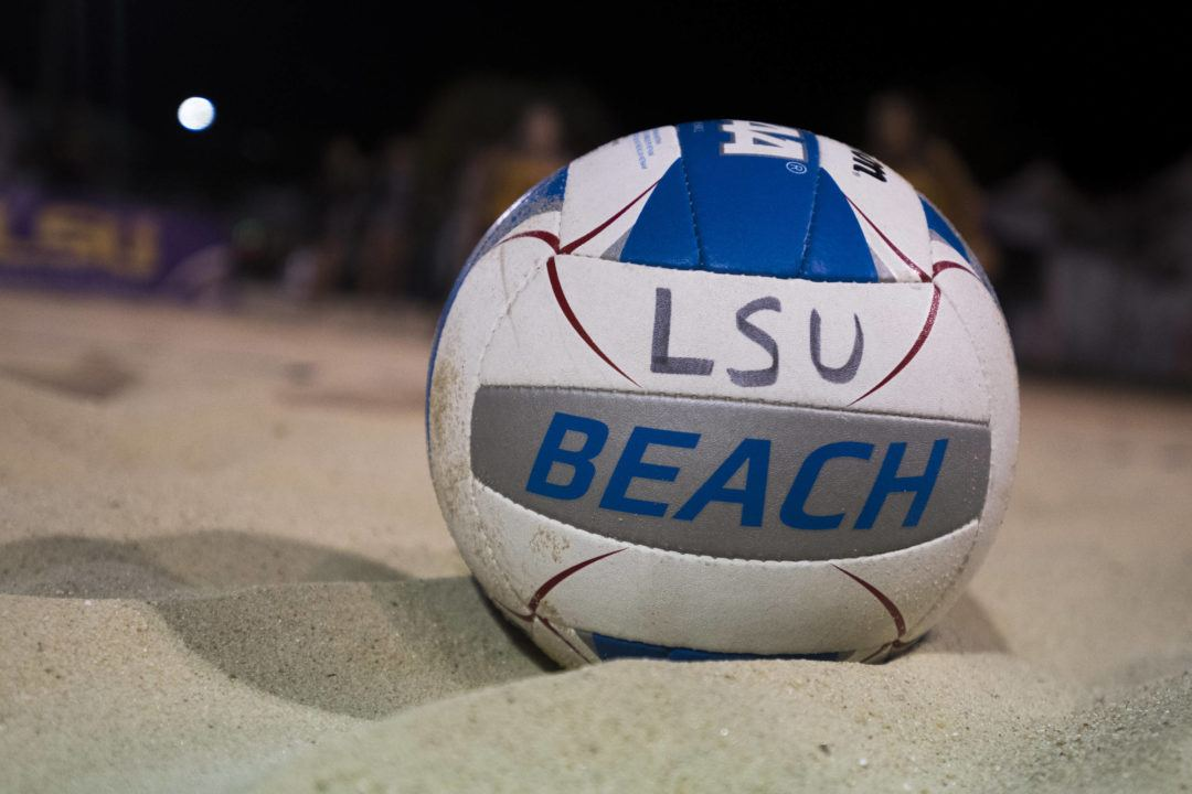LSU's Nuss/Coppola Named To CCSA Preseason All-Conference Beach Team