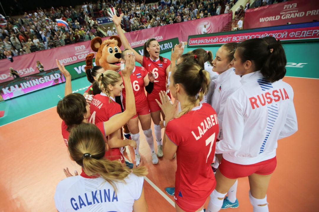 Dutch Cruise; Russia Wins First Match at Grand Prix