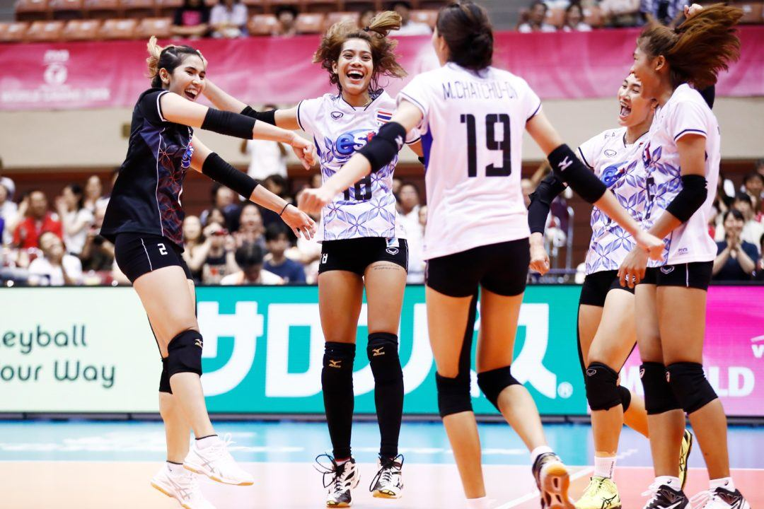 Thailand Shocks Brazil with a Sweep to Claim Pool D1 Lead