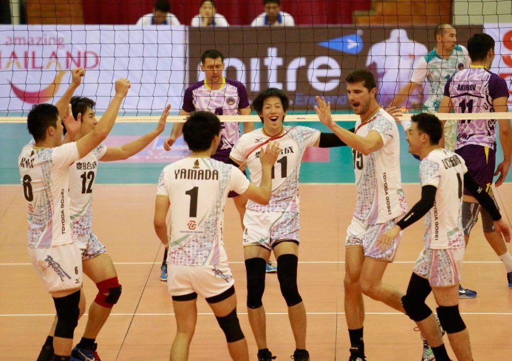 Sarmayeh Bank, Toyoda Gosei Grab Spots in Asian Men's Club Finals