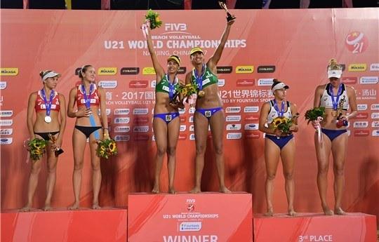 Brazil's Duda/Ana Patricia Earn Second Straight U21 Beach World Title