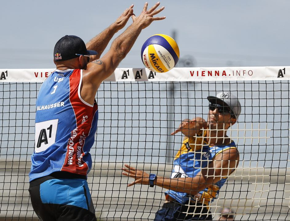 Dalhauser/Lucena Move to 2-0 Alongside 20 Other Teams at Beach Worlds