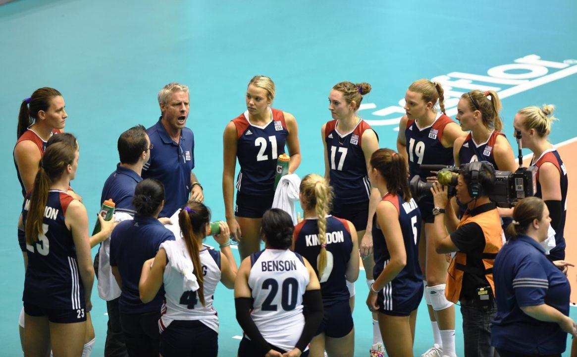 WATCH LIVE: U.S. Women in Top-3 Showdown with Netherlands at FIVB WGP
