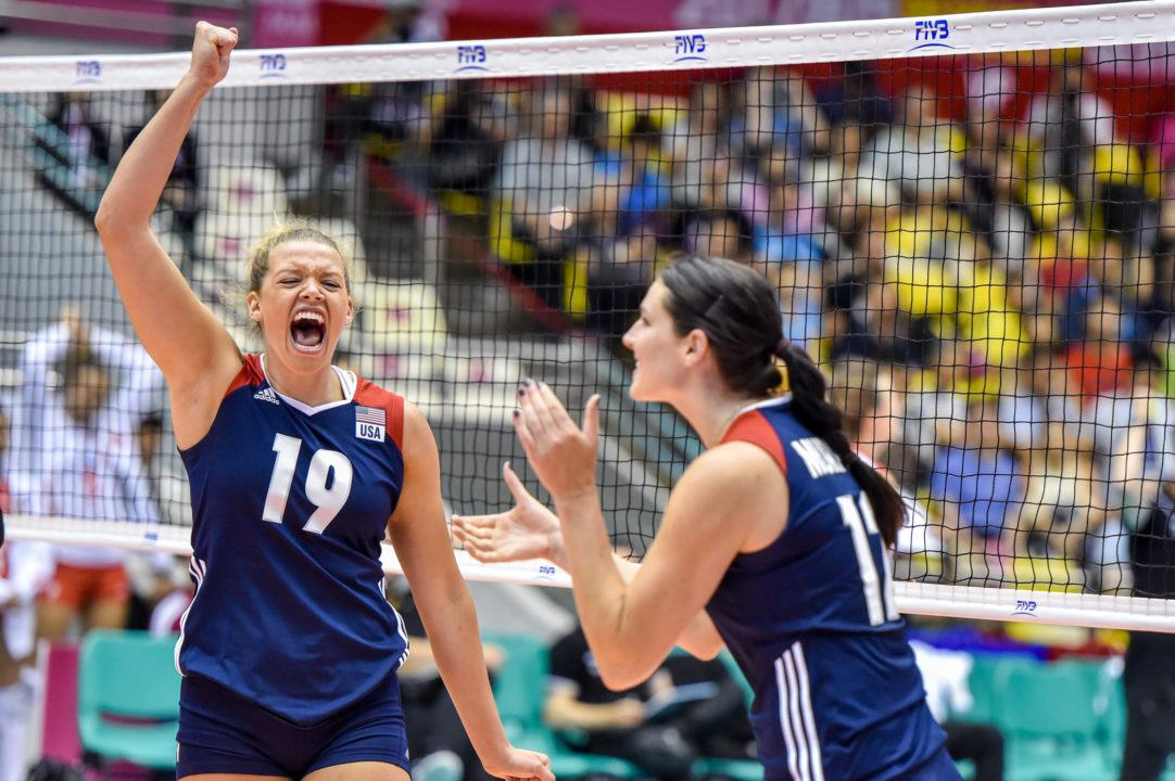 USA Remains Undefeated, Italy Sweeps China In Pool E1